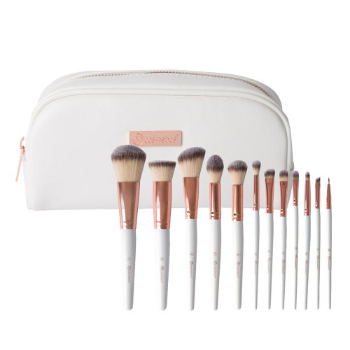 214bab252a856 BH Cosmetics Rose Romance 12 Piece Brush Set at BEAUTY BAY