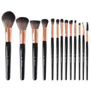 d06444d7d7b2 BH Cosmetics Signature Rose Gold 13 Piece Brush Set