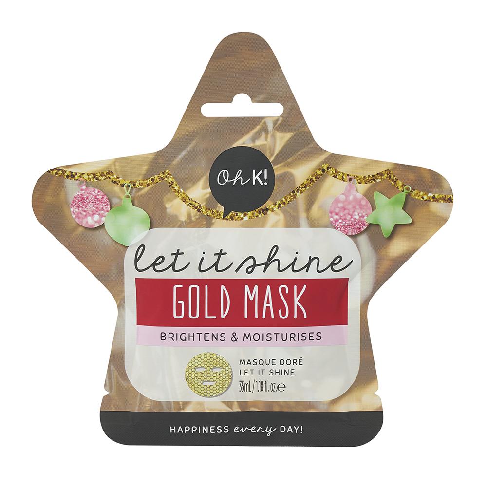 Let It Shine Gold Mask