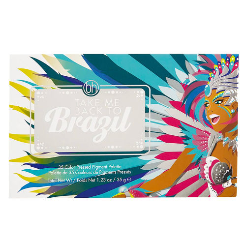 64bcd003282 BH Cosmetics Take Me Back To Brazil 35 Color Pressed Pigment Palette ...