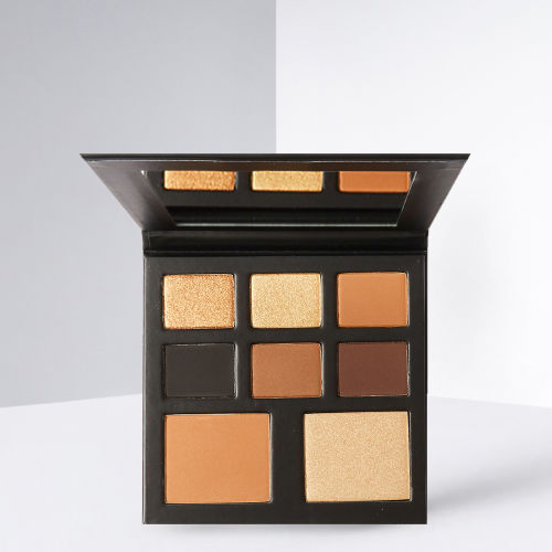 BEAUTY BAY Saffron Barker Get Ready With Me Eyeshadow and Highlighter Palette