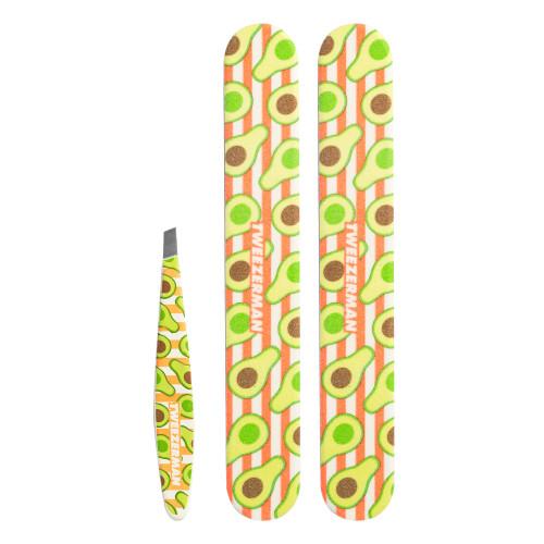 Tweezerman Avocado Duo Set