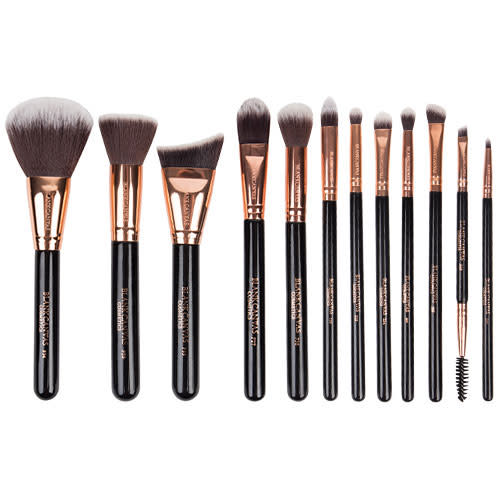 Blank Canvas Cosmetics Dimension Series 12 Piece Face & Eye Brush Set