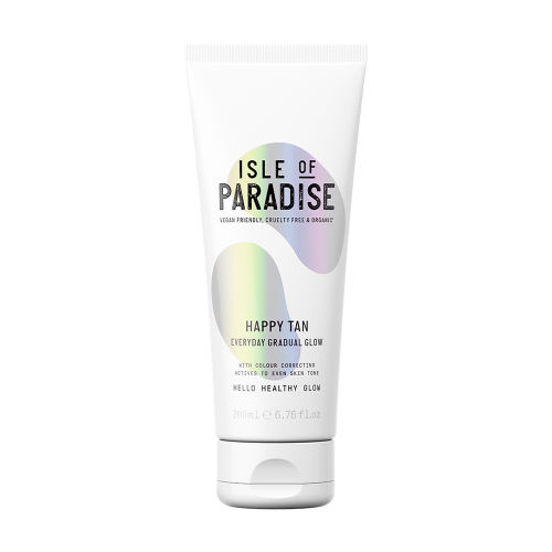 a10fea17d4 Isle Of Paradise Happy Tan Everyday Gradual Glow 200ml at BEAUTY BAY
