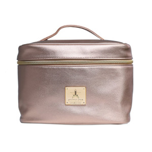 Jeffree Star Cosmetics Rose Gold Travel Makeup Bag