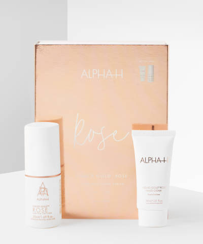 Luxe Rose Gold Kit by Alpha H