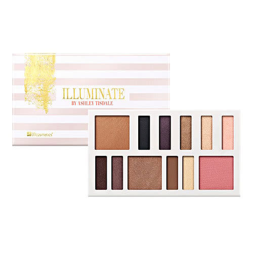14b1f30899243 BH Cosmetics Illuminate By Ashley Tisdale 12 Color Eye and Cheek Palette