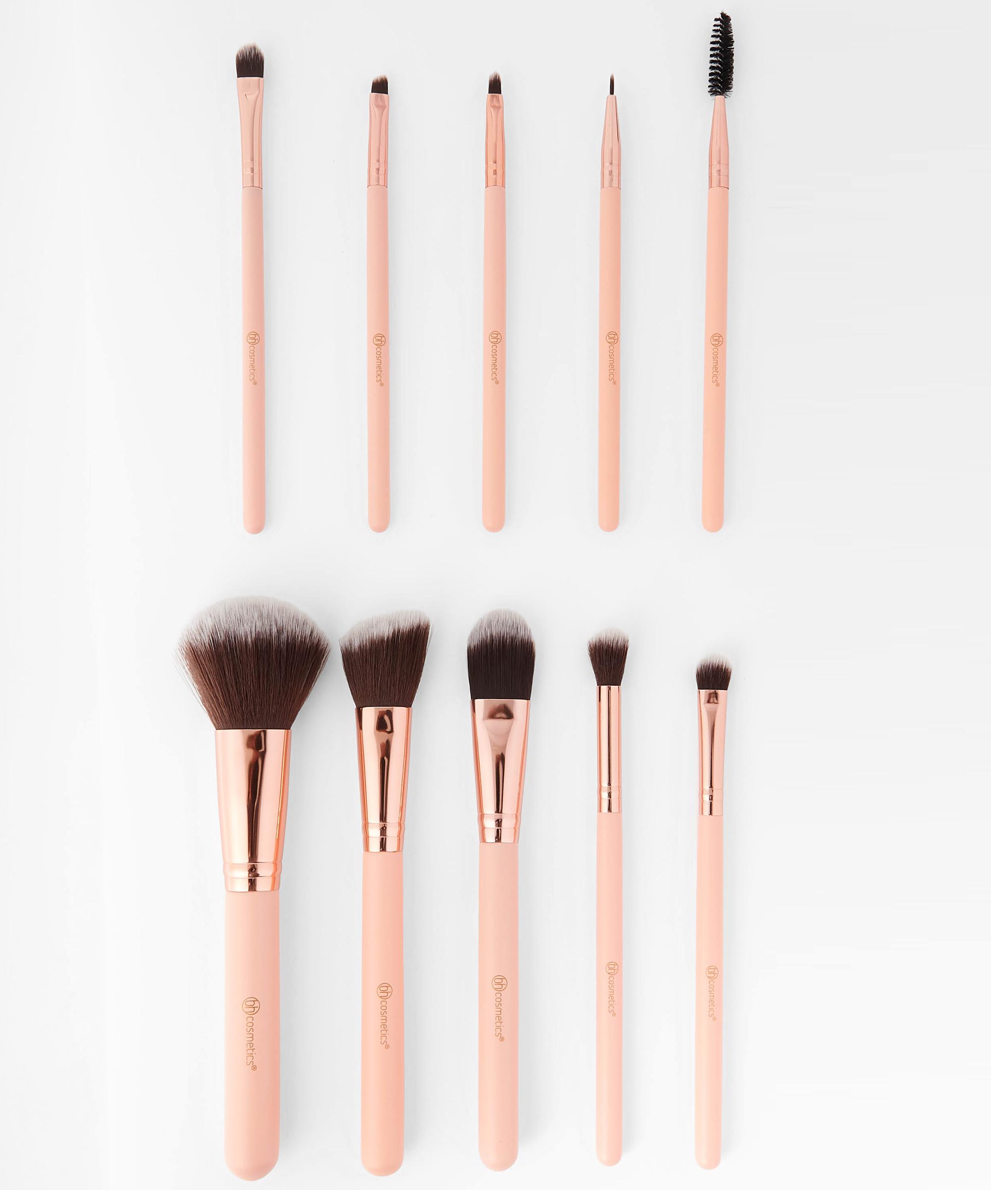 Pretty In Pink 10 Piece Brush Set