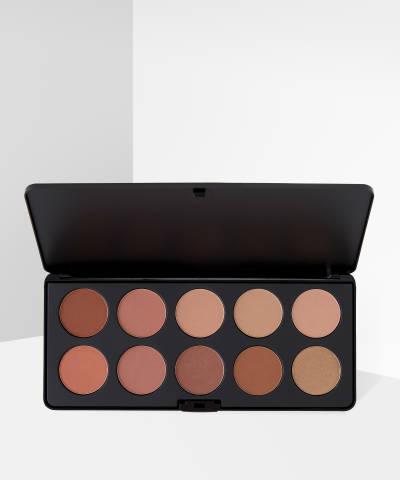 BH Cosmetics Nude Blush - 10 Color Blush Palette - Buy