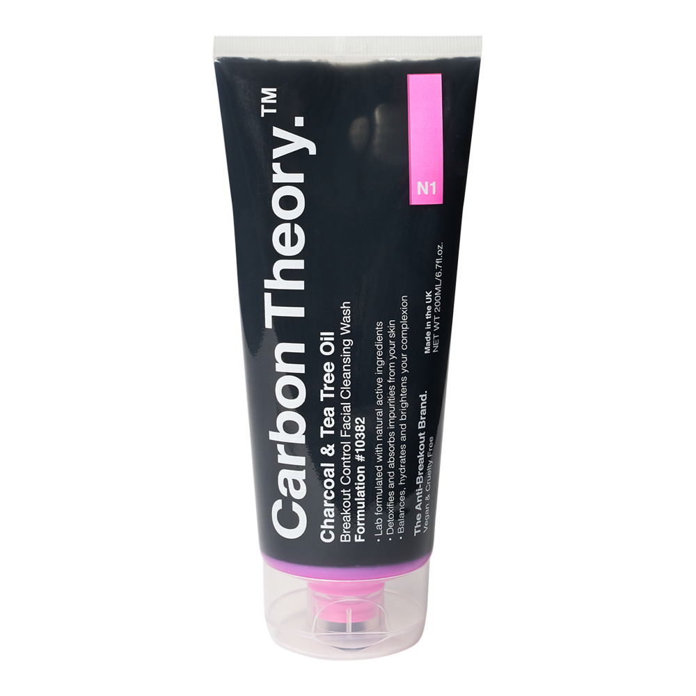 Charcoal & Tea Tree Oil  Breakout Control Facial Cleansing Wash