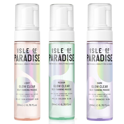 ab01d2c335c5 Isle Of Paradise Glow Clear Self-Tanning Mousse at BEAUTY BAY