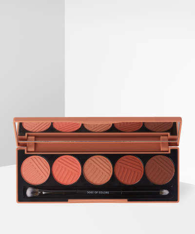 dose of colors sassy siennas eyeshadow palette at beauty bay