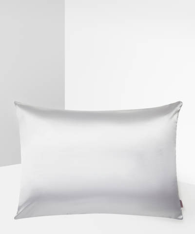 Kitsch Satin Pillowcase Ivory At Beauty Bay