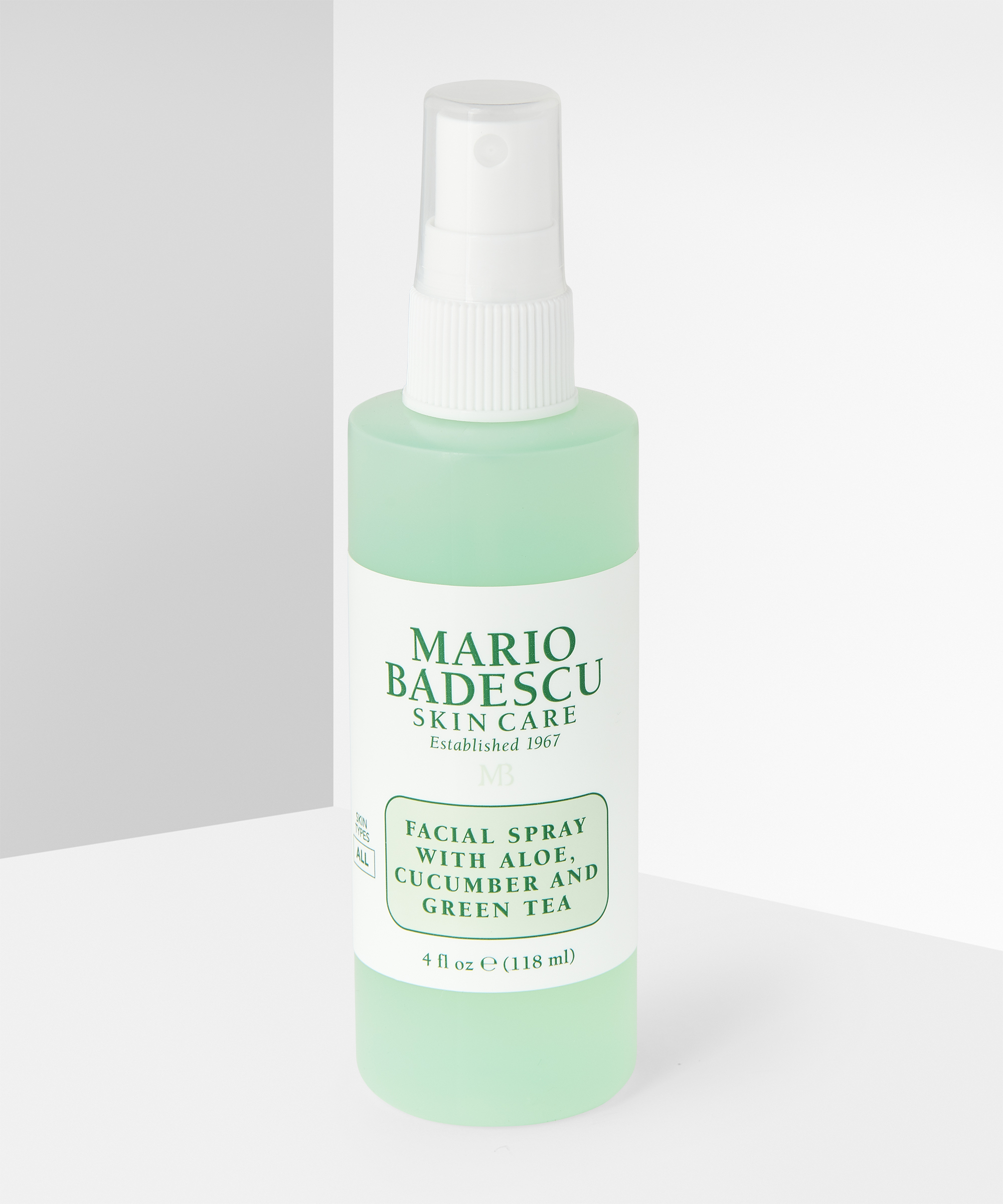 Facial Spray With Aloe Cucumber And Green Tea