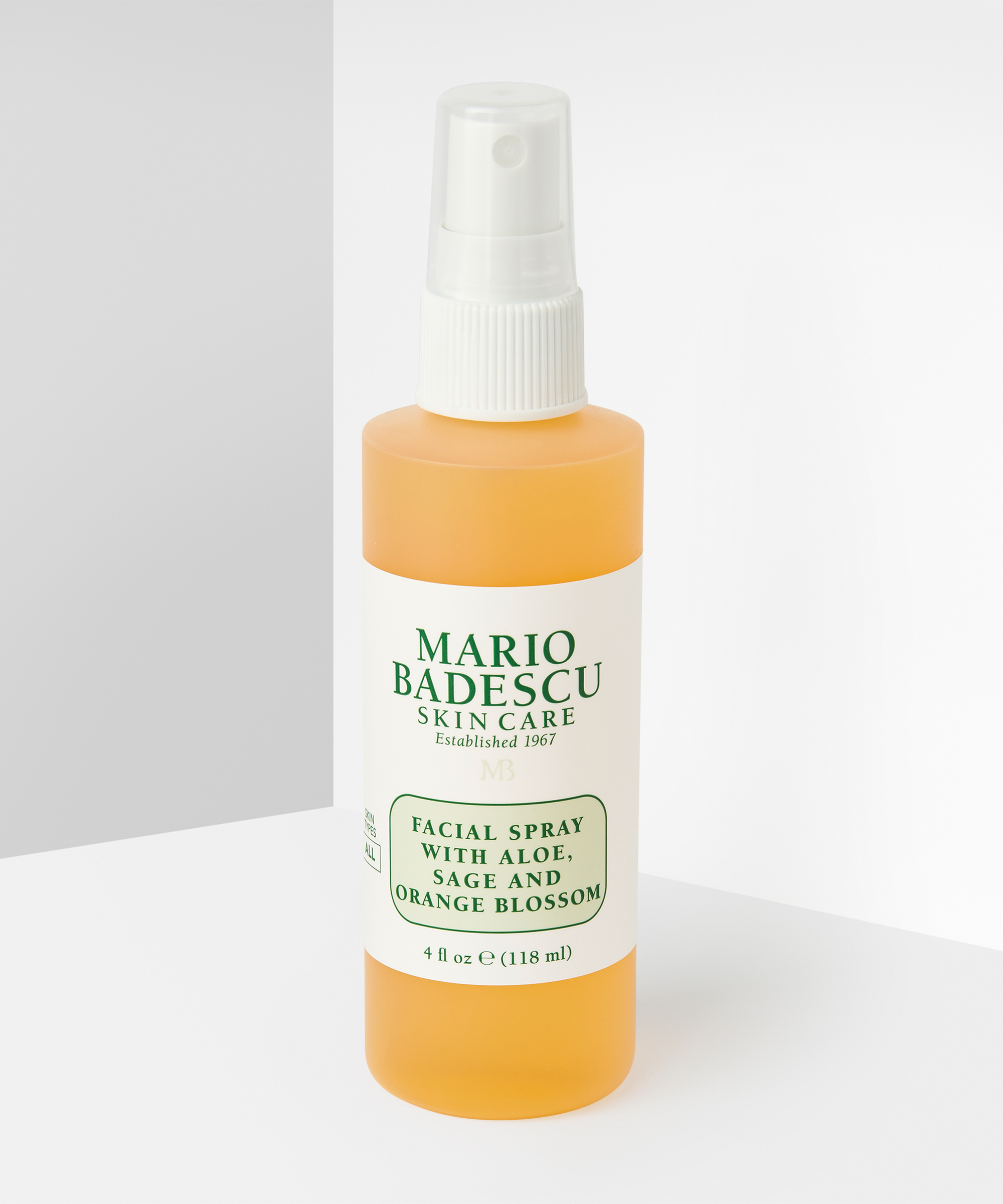Facial Spray With Aloe Sage And Orange Blossom