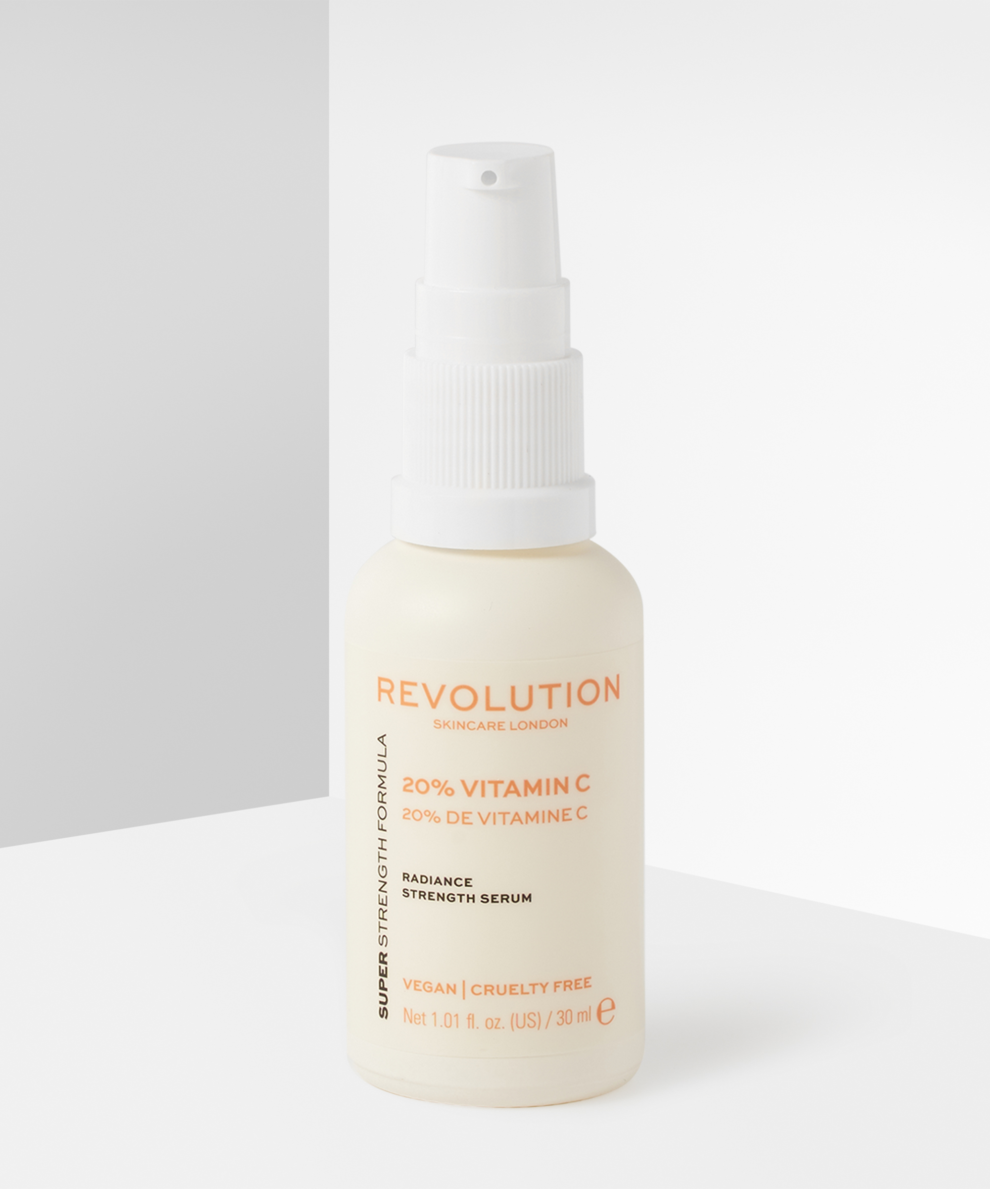 Revolution Skincare 20% Vitamin C Radiance Strength Serum at BEAUTY BAY