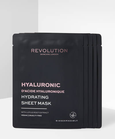 Revolution Skincare - Biodegradable Hydrating Hyaluronic Acid Sheet Mask Pack