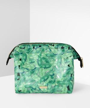 Green Fronds Washbag