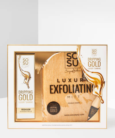 Dripping Gold Tan Removal Set by Sosu By Suzanne Jackson