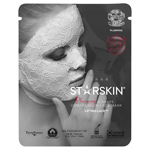 5043cadea825a STARSKIN Lifting Lace Plumping V-Shape Compression Lace Mask