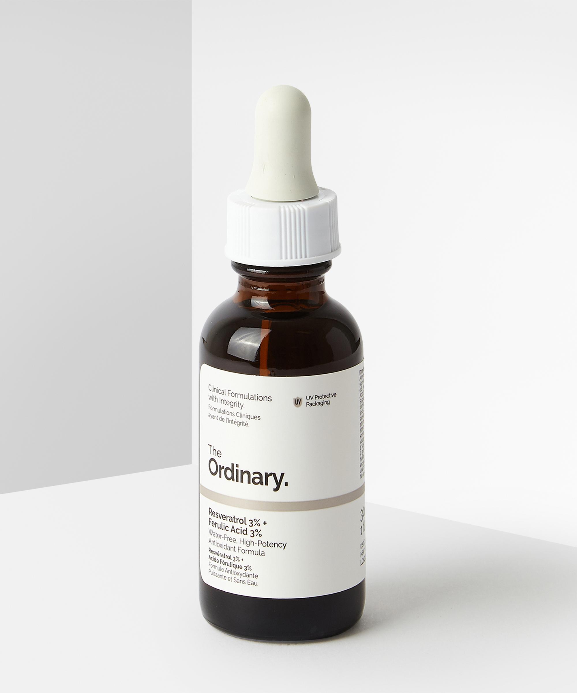The Ordinary Resveratrol 3 Ferulic Acid 3 At Beauty Bay